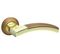 Дверная ручка Fuaro ACCORD,  бронза/золото