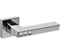 Дверная ручка Fuaro CRYSTAL FLASH, хром