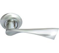 Дверная ручка Morelli Капелла, белый никель