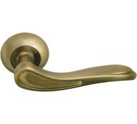 Дверная ручка Morelli London Eye, античная бронза/матовая античная бронза