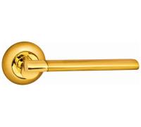 Дверная ручка Onyx Lux Аллегро SG/GP матовое золото /полированное золото