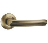 Дверная ручка Punto ALFA, зеленая бронза