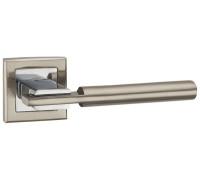 Дверная ручка Punto CITY, матовый никель/хром